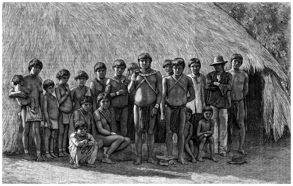 Traditional South American Indians : a Clan