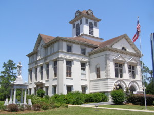 Courthouse, Quitman, Ga.
