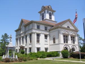 Courthouse, Quitman, Ga.