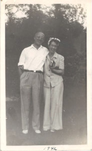 My grandparents, Howard and Doris Jenkins in 1943.