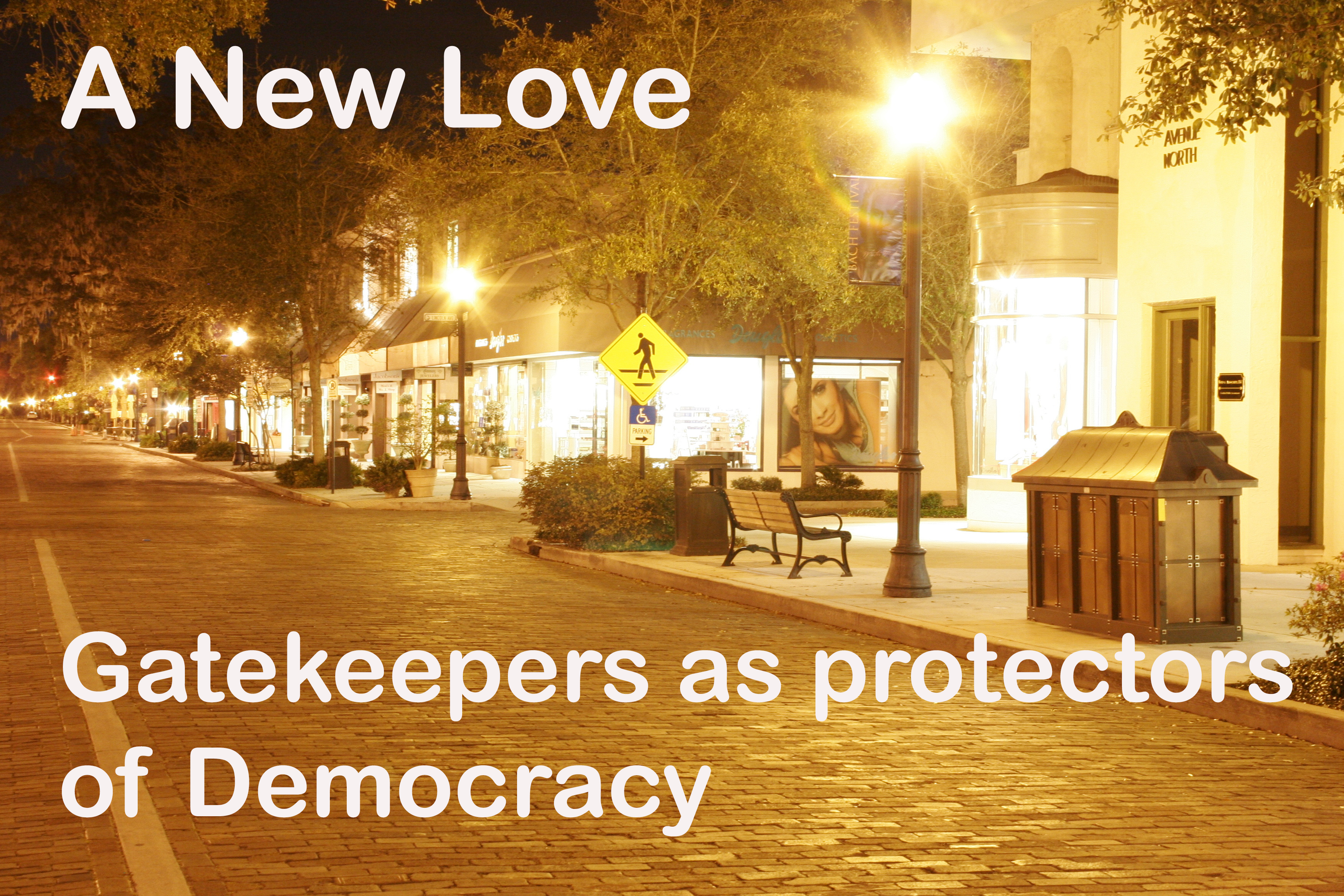 My New Love:  Gatekeepers in the Bookstore